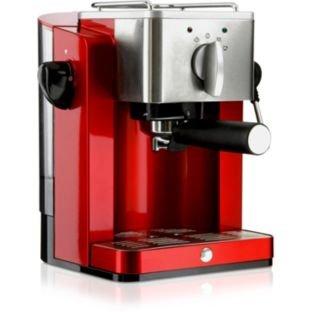 Bella BECM01 Espresso Coffee Machine - Red (223961699) by MPL Home Ltd