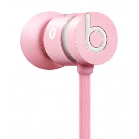 Beats By Dr. Dre Urbeats In-Ear Headphones (Pink) Bundle With Beats Cable With Microphone And Custom Designed Zorro Sounds Cleaning Cloth
