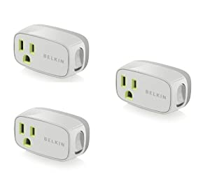 3 Pack - Belkin Power Conserve Switch F7c016q - Bulk Packaging from Belkin Components
