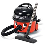 Numatic Top-Seller Hi-Power Canister Vacuum Cleaner, HVR200M-22, Henry Micro, with Accessory Tool Kit (Color: Red) - featuring the exclusive MICROTEX FILTRATION SYSTEM, approved to the highest standards for those suffering from ALLERGIES