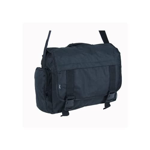 Mens & Womens BLACK Messenger   Dispatch Bag