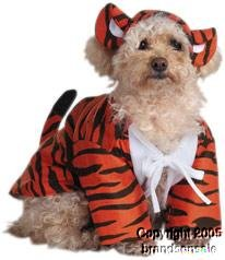 Pet Raja The Tiger Dog Costume For Small Dogs