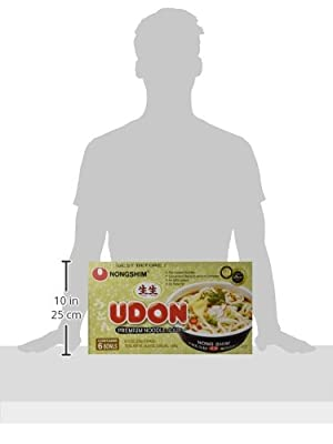 Nongshim Fresh Udon Bowl 9.73 Oz (Pack of 6) by Nong Shim