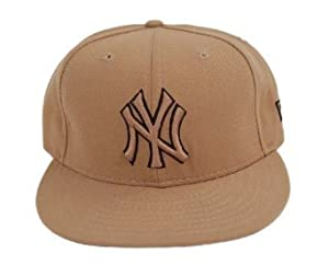 MLB New York Yankees New Era 59Fifty Khaki Fitted Hat 6 7/8