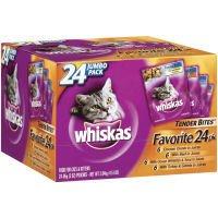 Image of Whiskas Tender Bites Diced Variety Pack, 4.5-Pound