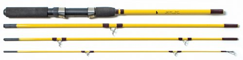 Eagle Claw Pack-It Spin and Fly Rod (4 Piece)