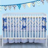Caden Lane Ikat Collection Asher Crib Bedding Set