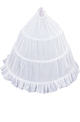 Amj Dresses Inc Girls 3-Hoop Flower Girl Petticoat Skirt 23""
