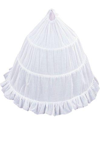 """Amj Dresses Inc Girls 3-Hoop Flower Girl Petticoat Skirt 23"""""""
