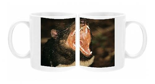Photo Mug Of Tasmanian Devil - Head With Mouth Wide Open