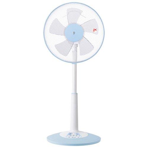 山善(YAMAZEN)  30cmリビング扇風機(押しボタンスイッチ)タイマー付 YLT-C30(WA) ホワイトブルー