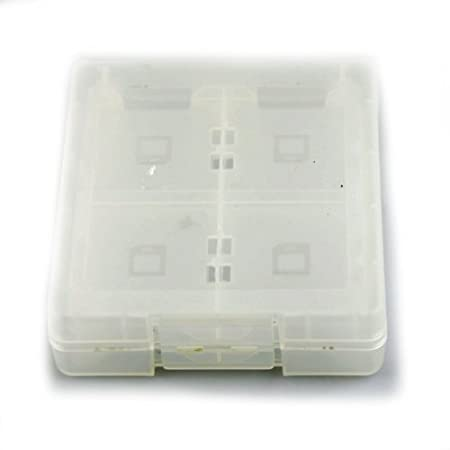 New White 16 in1 Game Card CASE BOX For Nintendo DS Lite/NDSi DSi