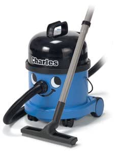 "Numatic Hi-Power Wet and/or Dry Canister Vacuum Cleaner with Professional A21A Accessory Tool Kit, CVC370, ""Charles"" (Color: Blue)"