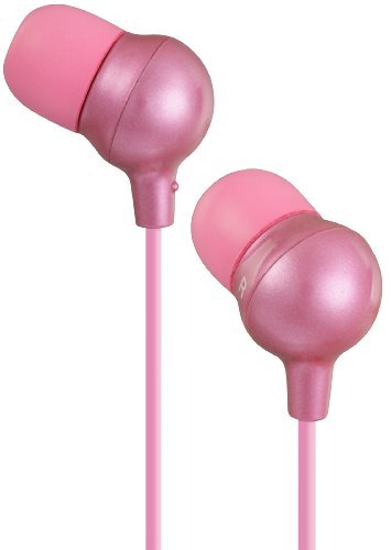 Jvc- Marshmallow Comfortable Fit In-Ear Headphones - Pink