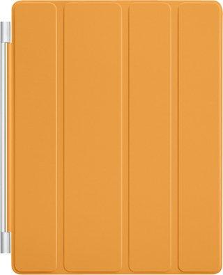 【アップル 純正】Apple iPad2 & The New iPad (第3世代) Smart Cover スマートカバー ポリウレタン製 【 オレンジ Orange 】