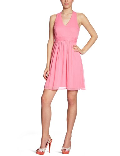 Damen Kleid mini 10077284 Minnie Strap Dress Gr. 40 L Pink MIAMI PINK