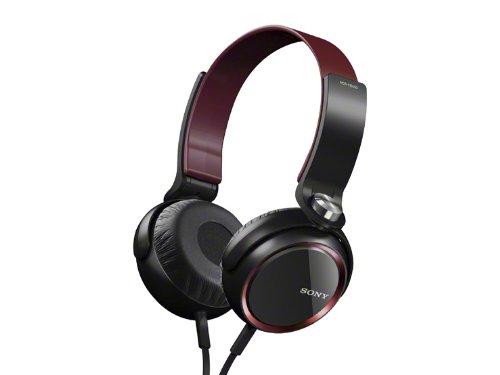 Amazon.co.jp: SONY ステレオヘッドホン レッド MDR-XB400/R: 家電・カメラ