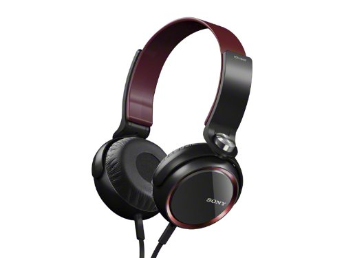 Sony Mdr-Xb400/R Red | Extra Bass Headphones (Japanese Import)