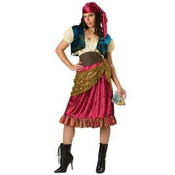 Gypsy Adult Costume Size 4-6 Small
