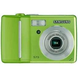 Samsung S73 7.2 Megapixel Digital Camera with 3x Optical Zoom (Green Color) Image