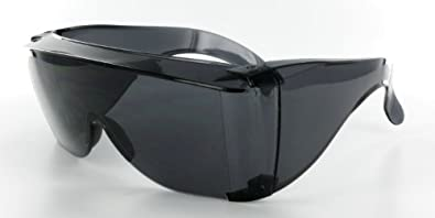 Cover-Ups Black Fit Over Sunglasses For People Who Wear Prescription Glasses in the Sun