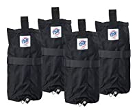 E-Z Up Instant Shelters Deluxe Weight Bags - Set of 4 from E-Z UP Inc.