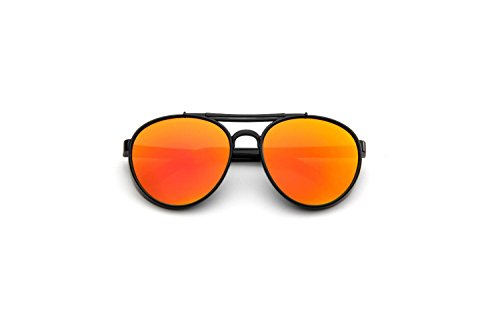 Darkey Wang Fashionable Men And Women Wild Retro Toad UV Sunglasses(Red)