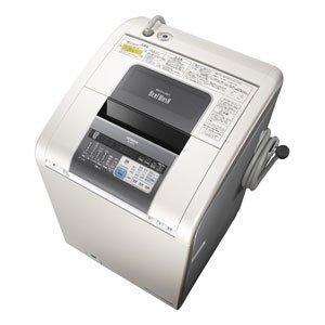 日立 タテ型 洗濯乾燥機 ビートウォッシュ BW-D9PV-W パールホワイト 洗濯・脱水 9.0kg 乾燥 6.0kg