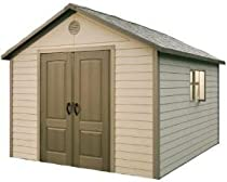 Hot Sale Lifetime 6415 11-by-13-1/2-Foot Outdoor Storage Shed