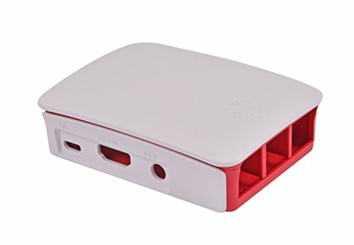 Boîtier officiel en plastique Raspberry Pi 3 Case (compatible Raspberry Pi 3 Model B / Pi 2 Model B)