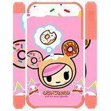 DiyCaseStore Lovely Pink Tokidoki Sweet Treat iPhone 4 4S Durable and lightweight Cover Case