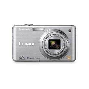 Panasonic Lumix DMC-FH20 14.1 MP Digital Camera with 8x Optical Image Stabilized Zoom and 2.7-Inch LCD (Silver)