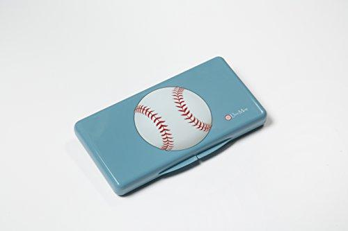 Uber Mom Baseball Wipe Box, Blue - 1