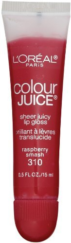 L'oreal Paris Colour Juice Sheer Juicy Lip Gloss,raspberry