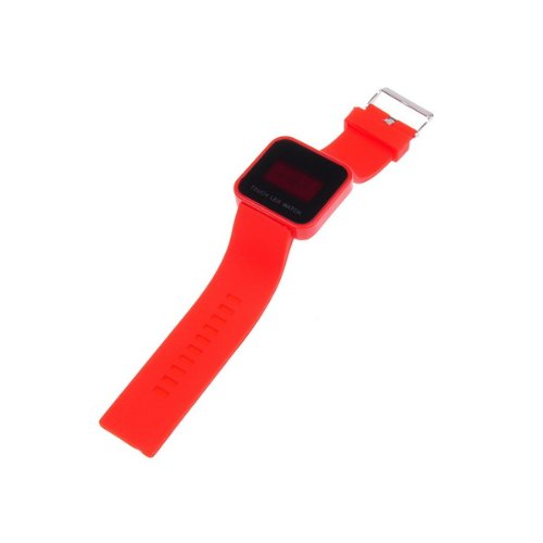 Bestdealusa Cool Red Touch Screen Digital Led Wrist Watch Silicone Band