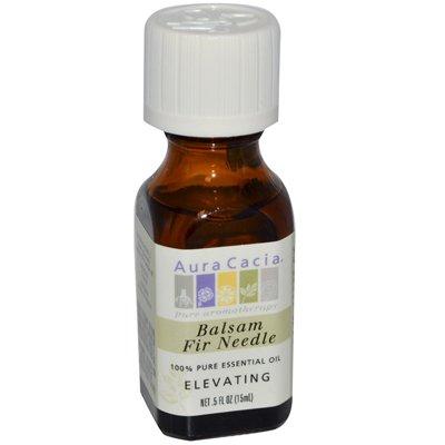 Aura Cacia Fire Needle Balsam Essential Oil, 0.5 Fluid Ounce -- 1 each.