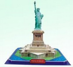 Cheap CALEBOU 3D 3D Statue Of Liberty in New York City USA Puzzle Model (B002SL7B5G)