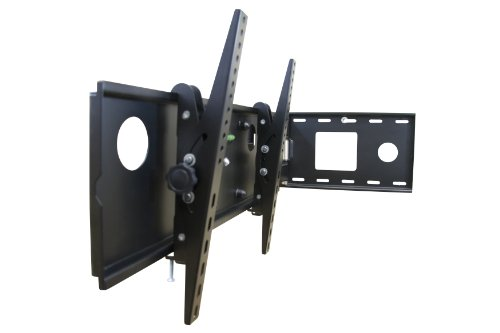 mount it mi 2171l tv wall mount full motion bracket swing out arm for 32 to 65 flat screen. Black Bedroom Furniture Sets. Home Design Ideas