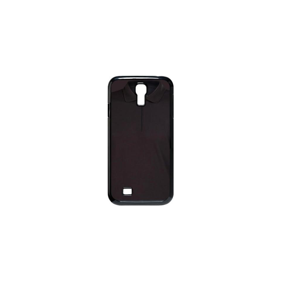 All Black Polo Shirt Style Samsung Galaxy S4 Case for SamSung Galaxy S4 I9500