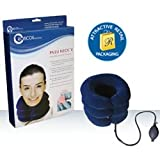 Funcilit Neck Relief Hammock Cervical Traction and Relaxation, The Original Portable Cervical Traction and Stretcher Device for Chronic Neck and Shoulder Pain Relief (Black)