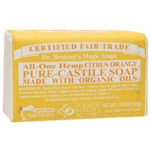 Dr. Bronners Soaps Organic Pure Castile Bar Soap ( Multi-Pack)