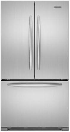 KitchenAid Architect Series II : KFCS22EVMS 21.8 cu. ft. Counter-Depth French Door Refrigerator