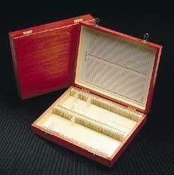 BOX WOOD HOLDS100 1X3IN SLIDES - Micro Slide Box, Wood - Model 48448-004 - Each - Model 48448-004
