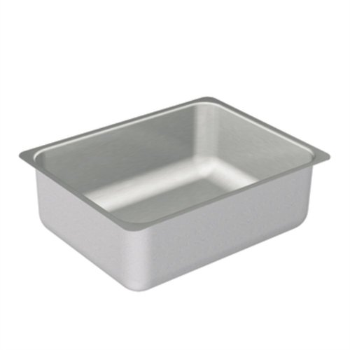 Moen G20192 2000 Series Single Bowl Undermount Sink, 20-Gauge, Stainless Steel