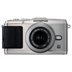 Olympus PEN E-P3 12.3 MP Live MOS Micro Four Thirds Interchangeable Lens Digital Camera with 14-42mm Zoom Lens (Silver)