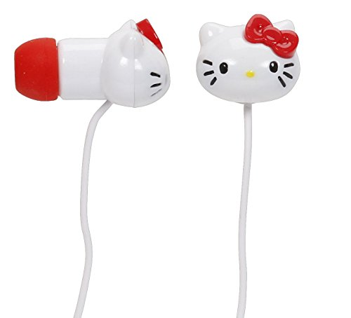Hello Kitty Molded Earbuds With Mic For Iphone 13309-Iph