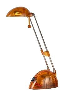 Lucide 12651/21/53 - Flexo de escritorio (12 V/20 W), color naranja translúcido de Lucide