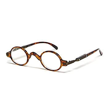 Calabria R314 Vintage Professor Oval Reading Glasses Incredibly Lightweight