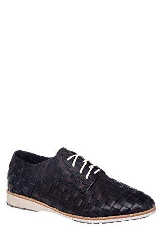Derby Woven Lace-Up Oxford Shoe