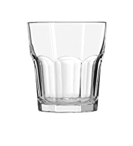 Libbey Gibraltar 12-Ounce Rocks Glass , Box of 12, Clear